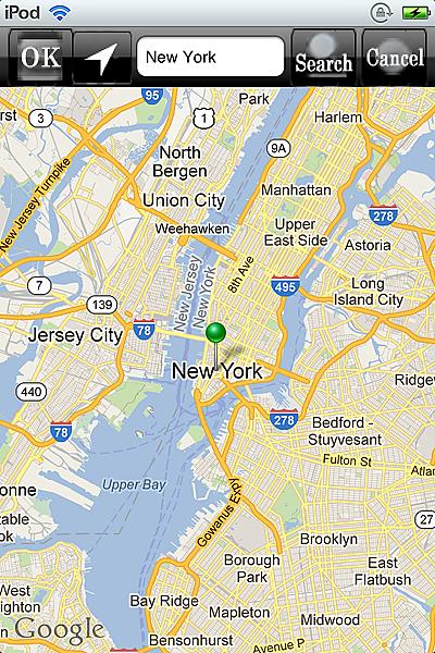 ホロスコープ時空 占星術 アプリ ホロスコープ iPhone map new york